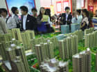 At a property trade fair in Beijing, China